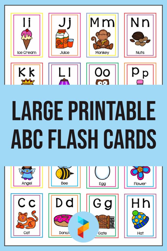 6 Best Large Printable ABC Flash Cards Printablee