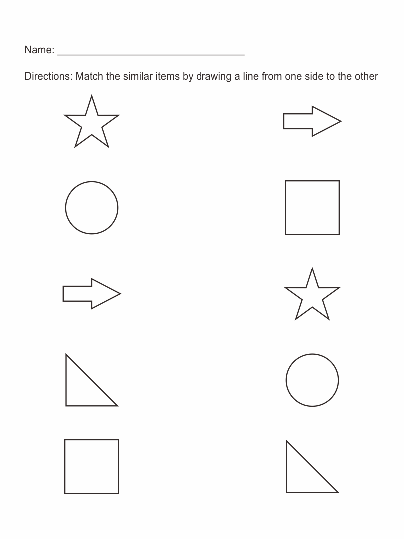 Pre Kindergarten Worksheets
