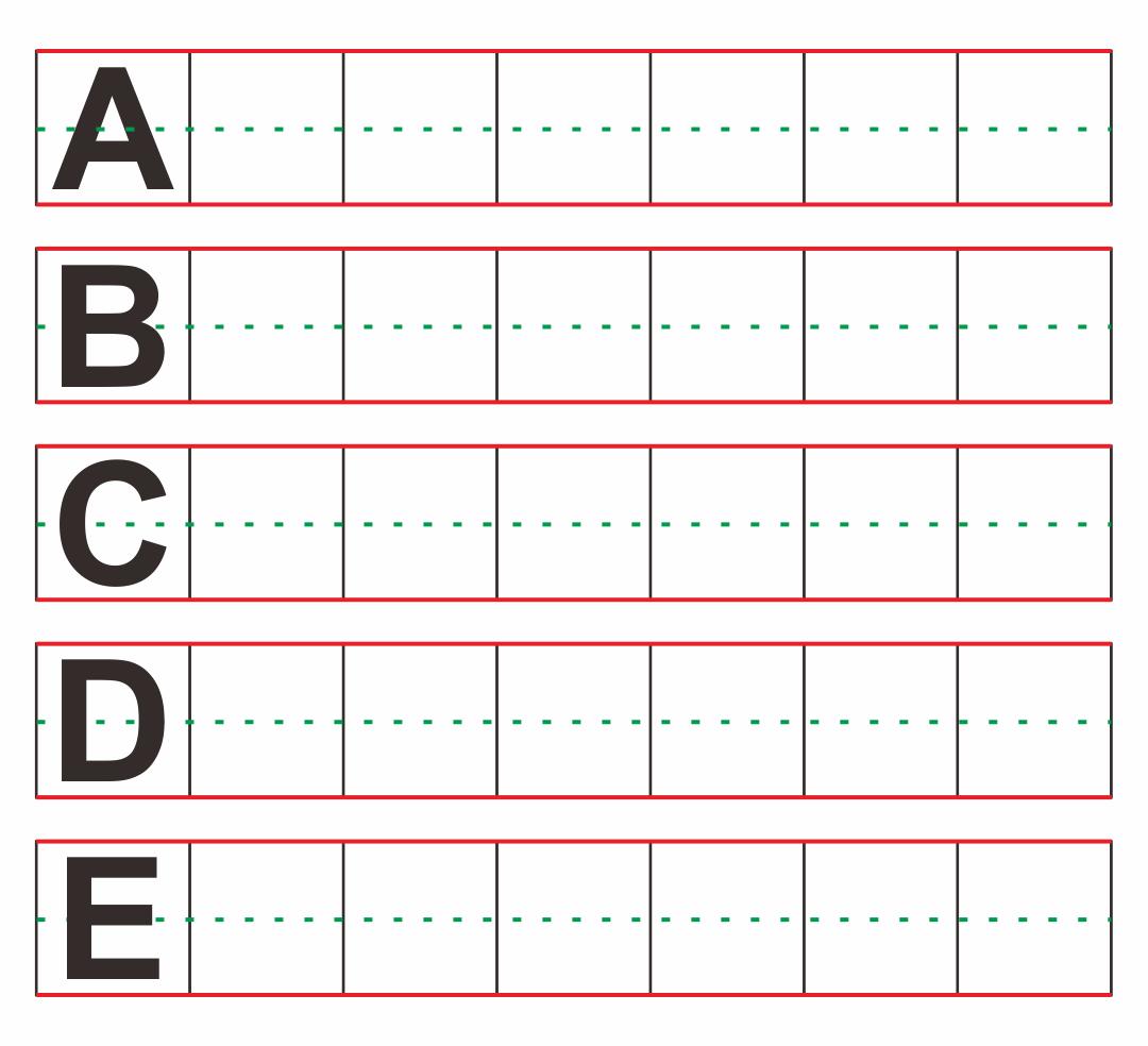 Preschool Writing Worksheets