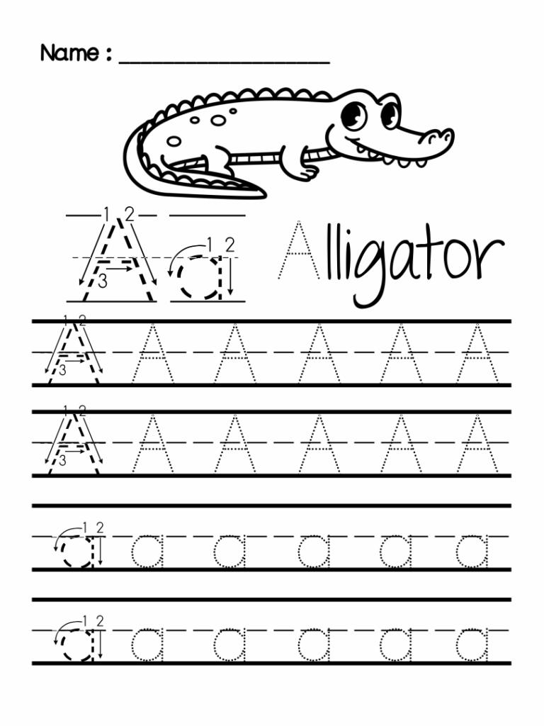 7 Best Preschool Writing Worksheets Free Printable Letters