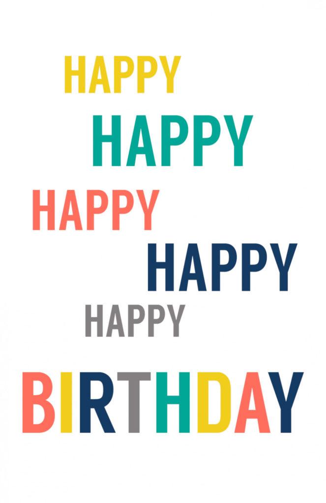 7 Free Birthday Printable
