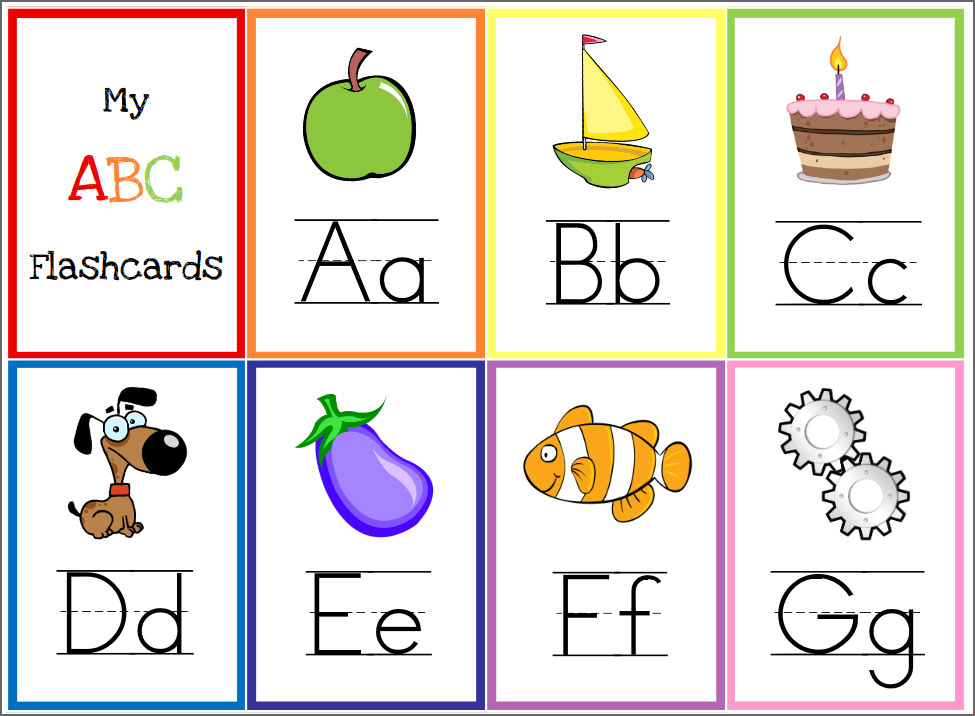 Free Alphabet Printables For Toddlers