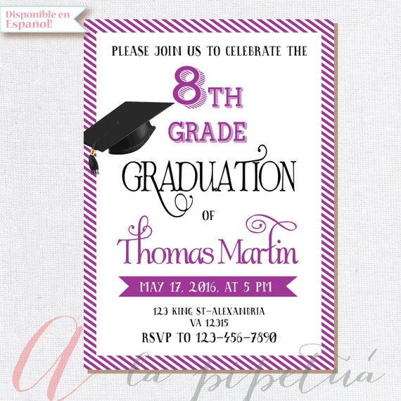 Free Printable 8th Grade Graduation Cards