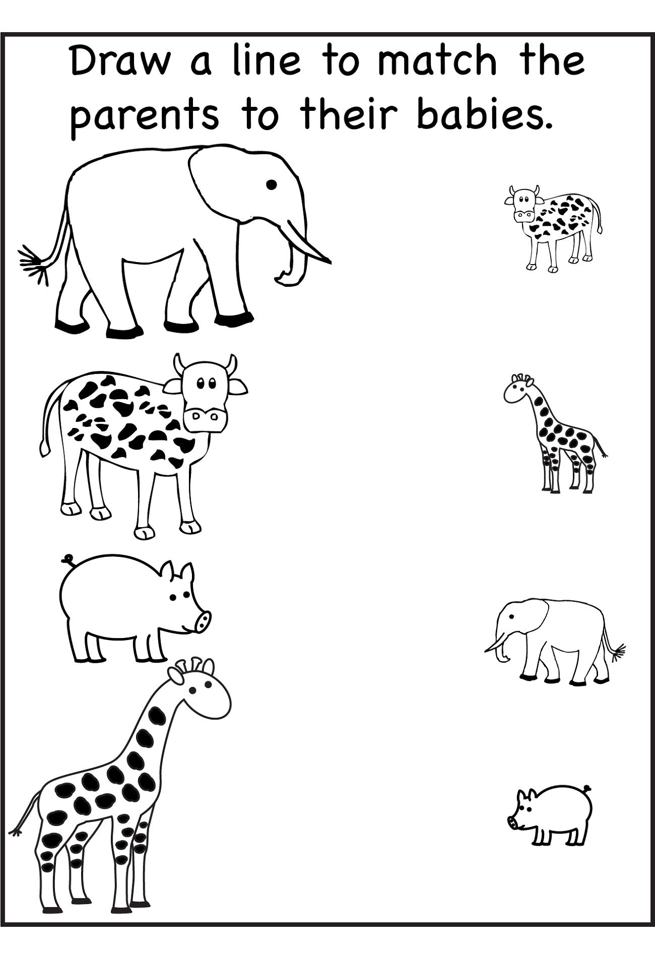 Printable Worksheets For Nursery