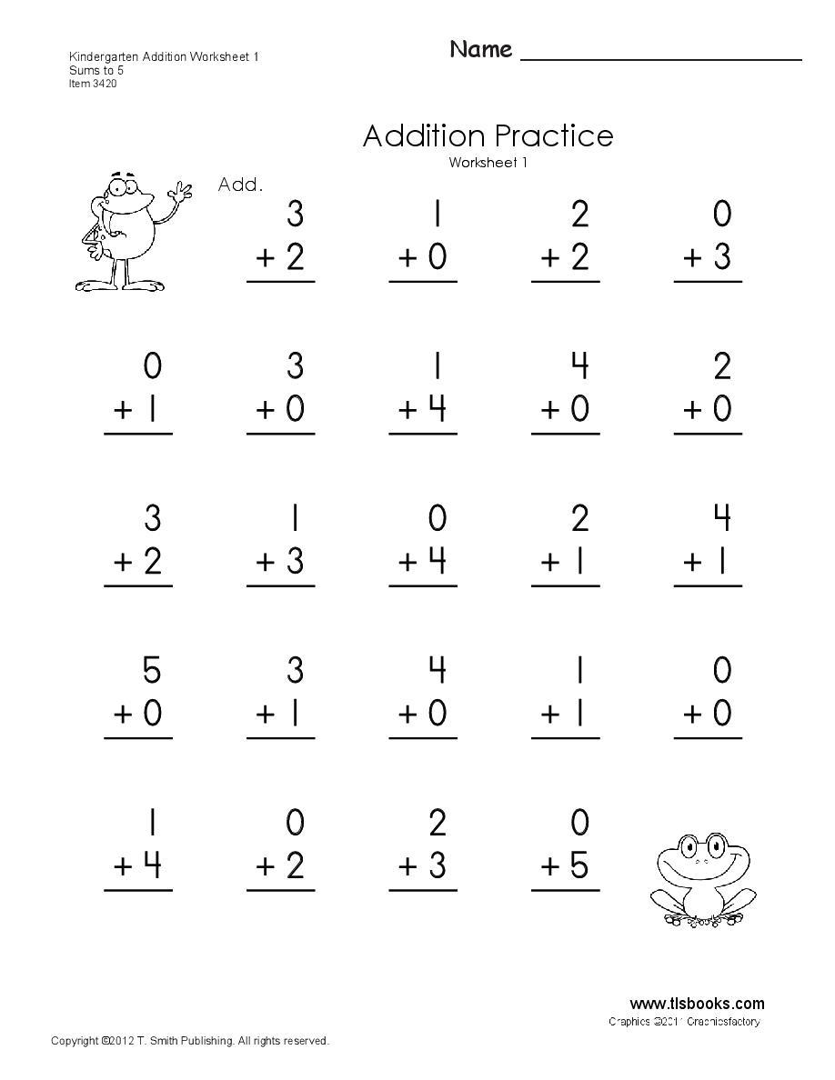 Basic Math Worksheets