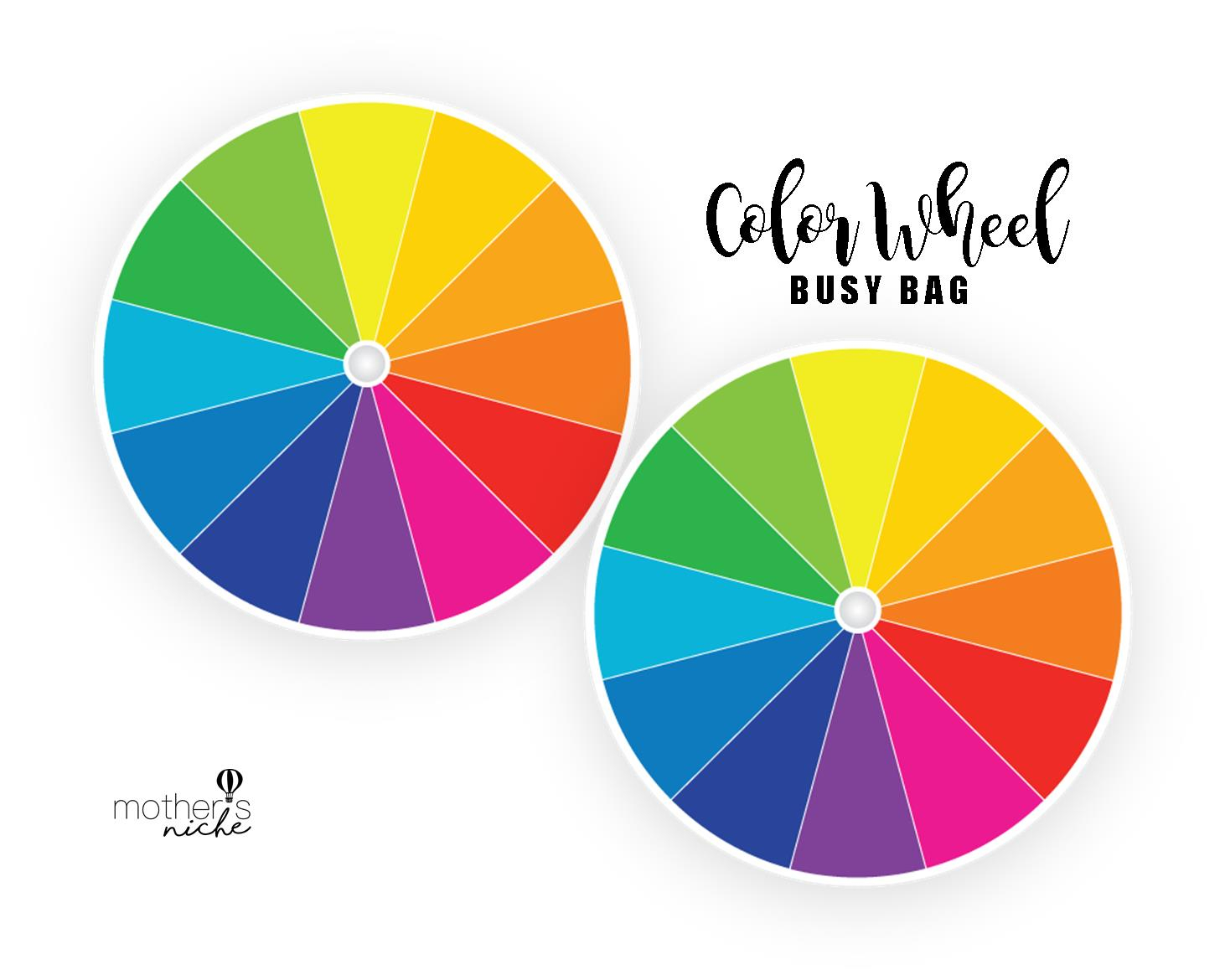 Color Wheel Printable