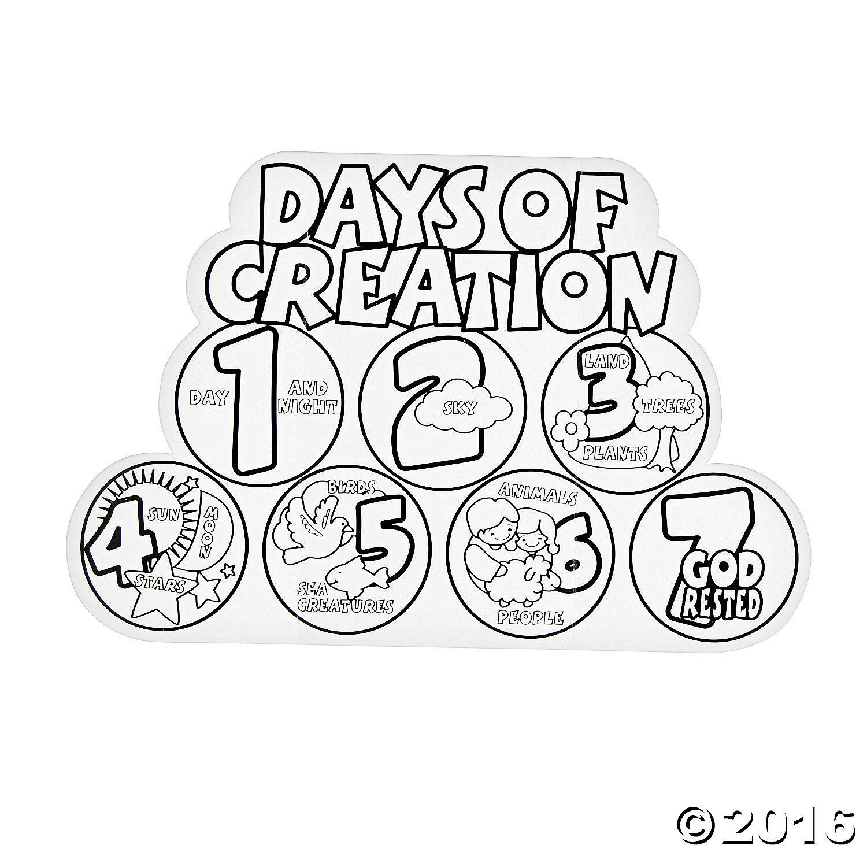 Free Printable 7 Days Of Creation