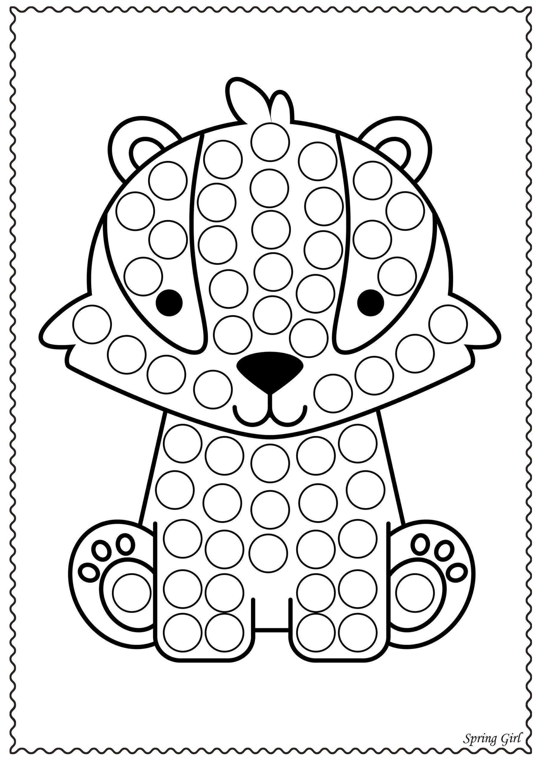 Dot Marker Printables