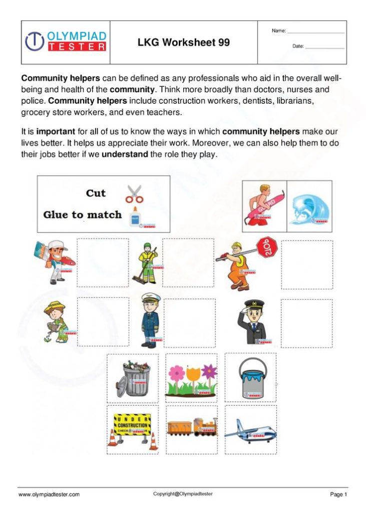 Download LKG Worksheets Set 20 Kindergarten Worksheets
