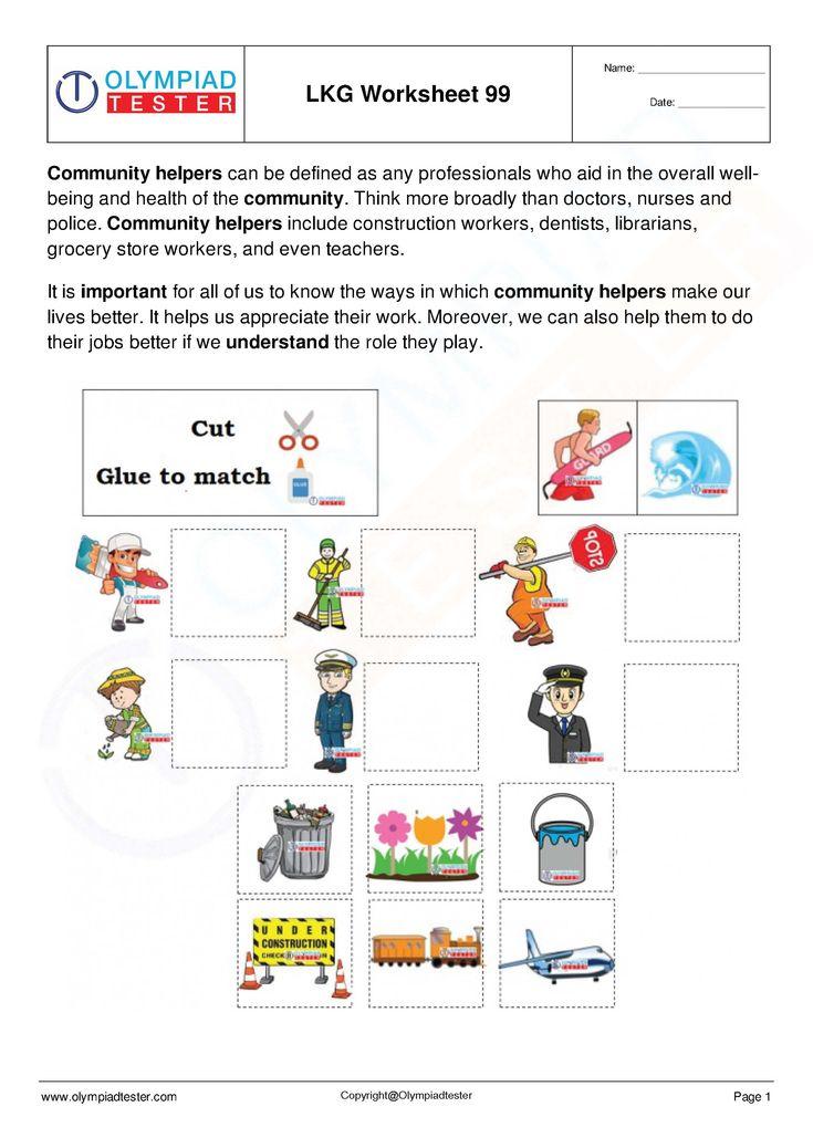 Free Worksheets For Lkg