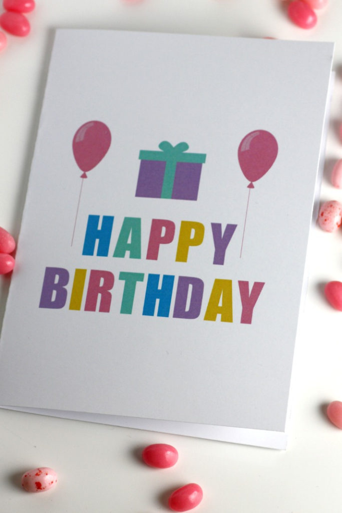Download These Fun Free Printable Blank Birthday Cards Now