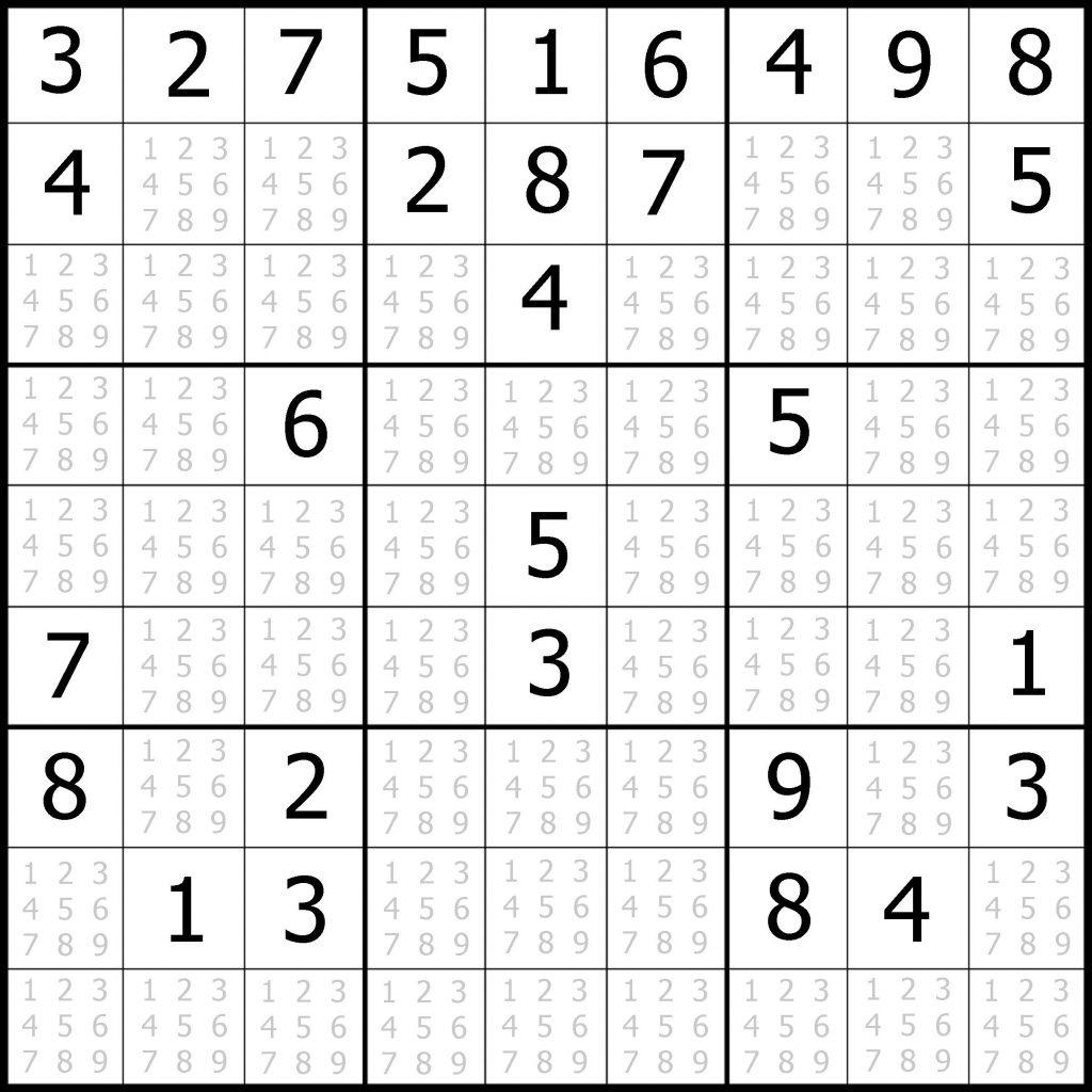 Easy 9X9 Sudoku Puzzles Woo Jr Kids Activities