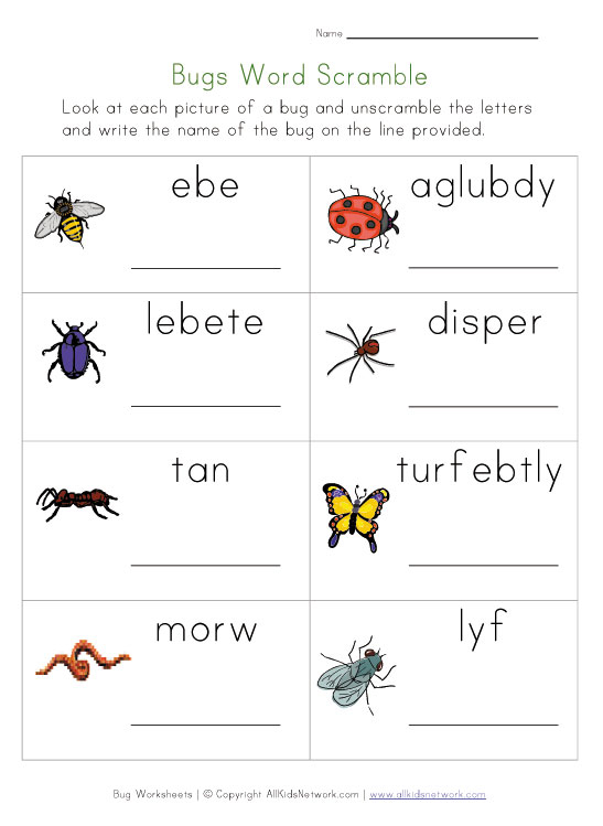 Free Printable Worksheets For Year 1