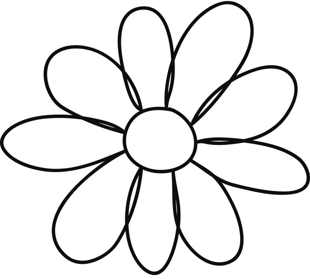 Flower Template For Children S Activities Activity Shelter