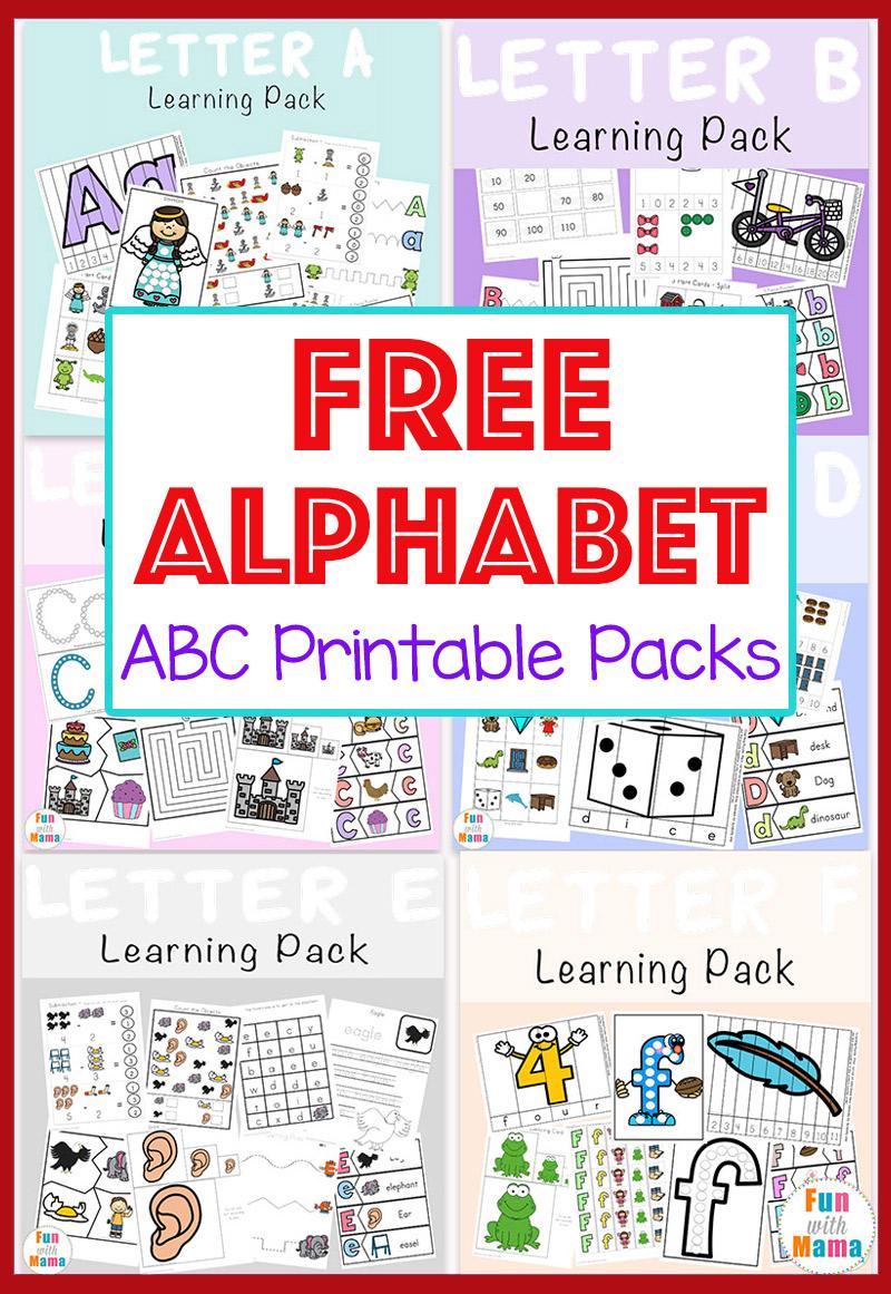 Free Printable Alphabet Worksheets