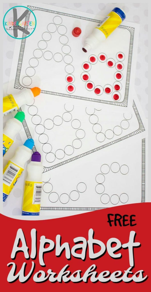 FREE Alphabet Worksheets These Simple Abc Worksheets Are