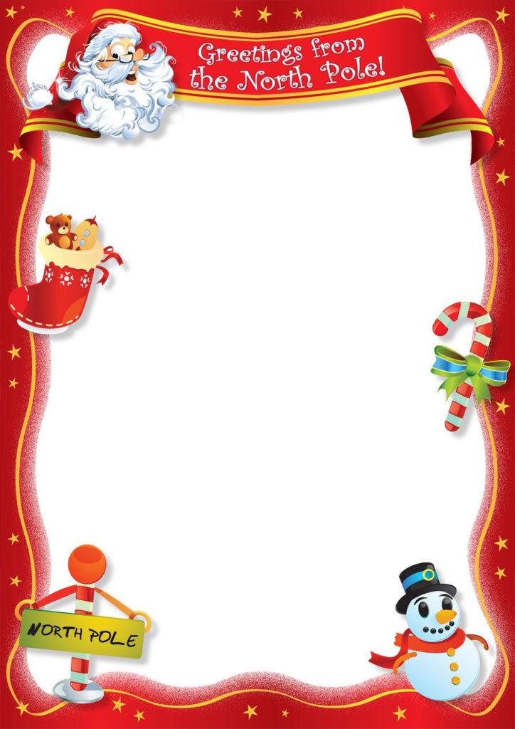 Free Christmas Holiday Letter Templates Printable Google