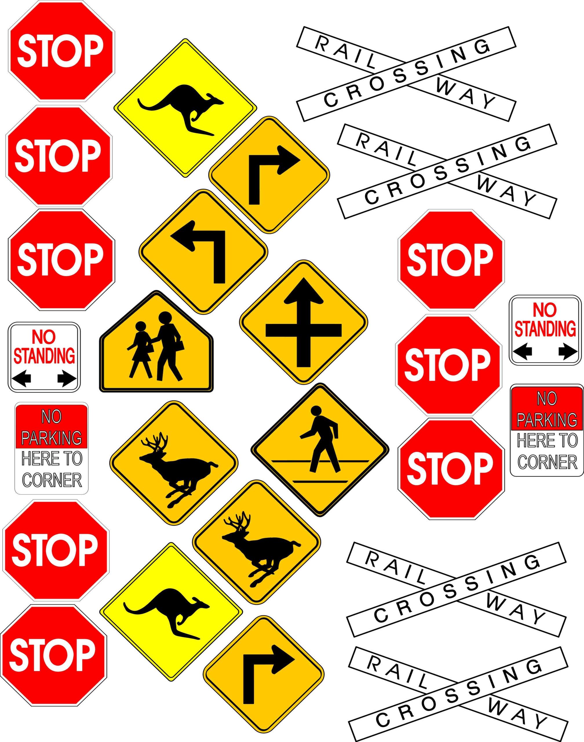 Free N Scale Printable Signs