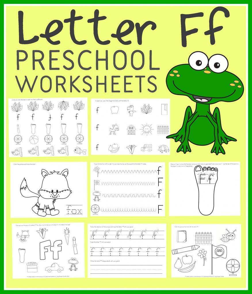 Letter F Free Printables