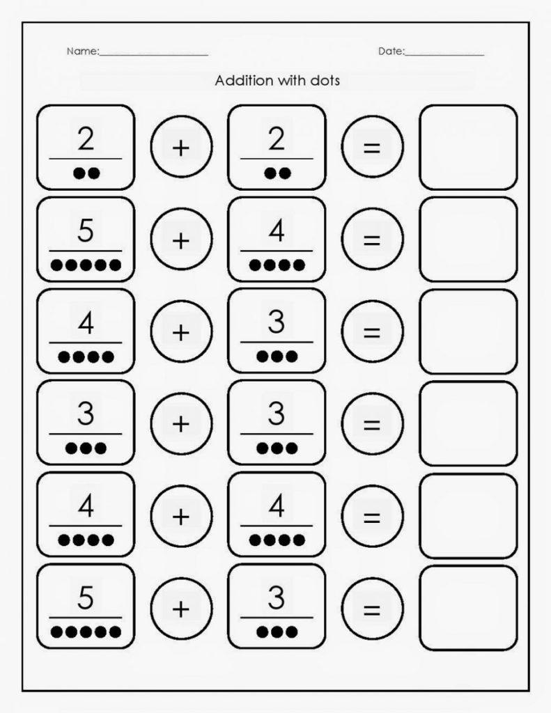 Free Math Printables Addition K5 Worksheets