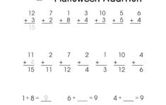 Free Math Worksheets For 1st Grade Activity Shelter