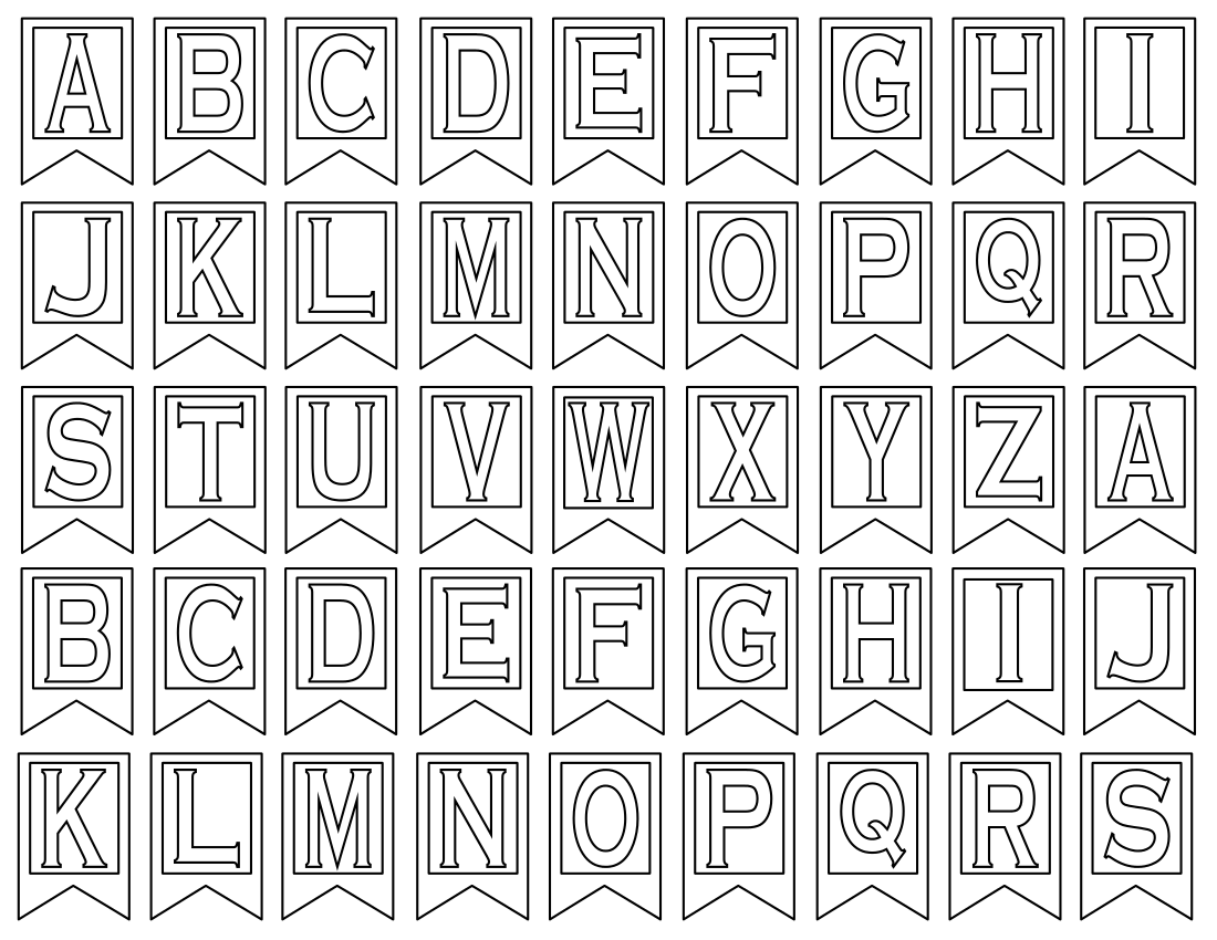 Free 5 Printable Letters