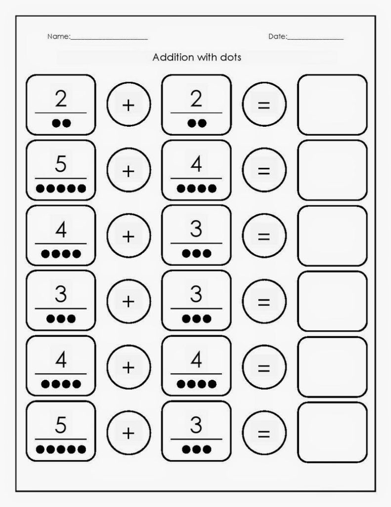 Free Printable Basic Math Worksheets Sums Coloring Sheets