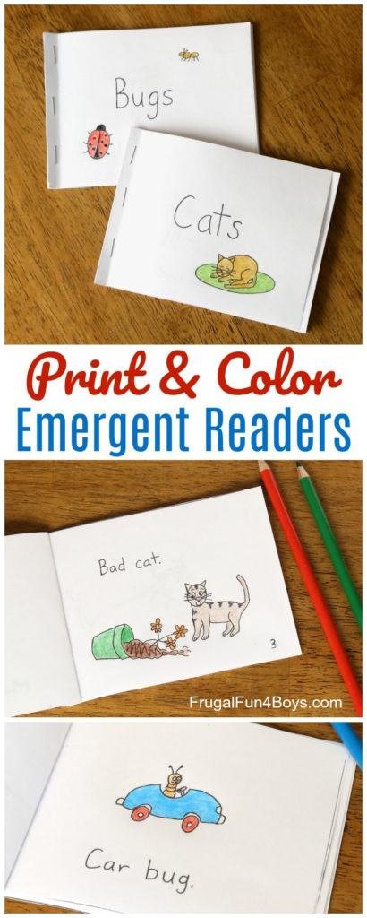 Free Printable Books For Beginning Readers Level 1 Easy
