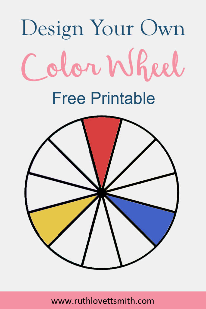 FREE Printable Color Wheel Learn Color Theory Ruth