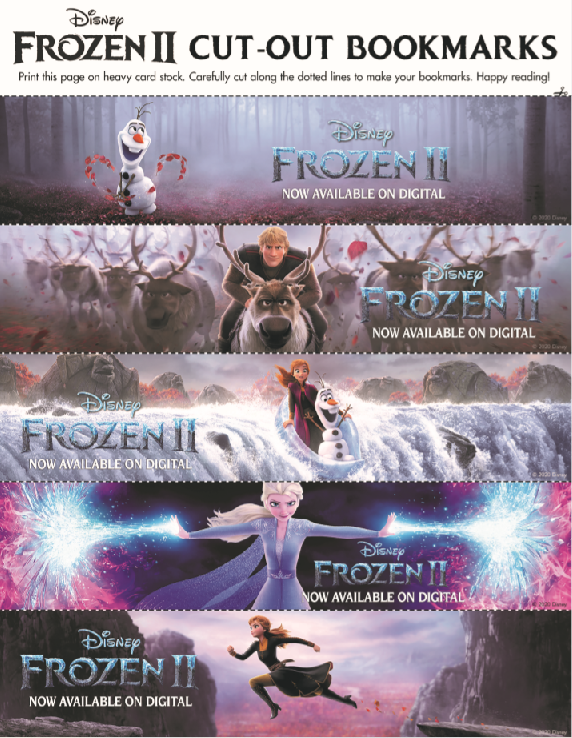 Frozen 2 Free Printables