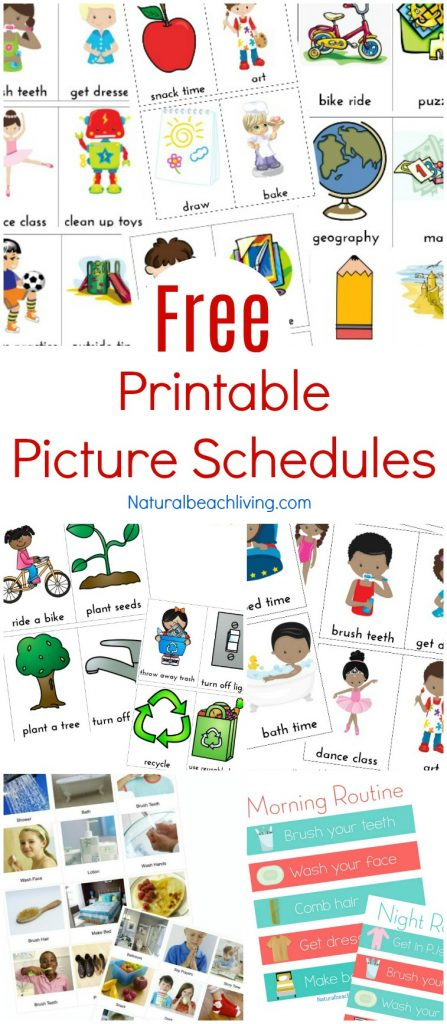 Free Printable Visual Schedule
