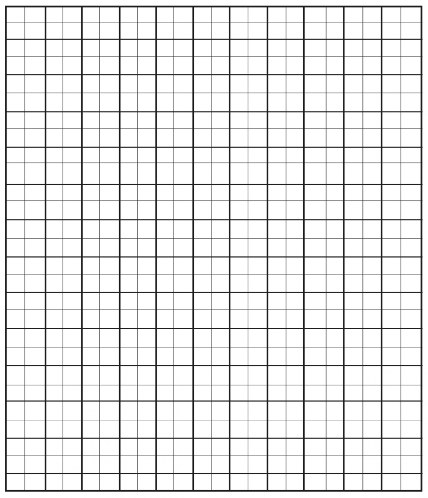 Free Printable Small Square Graph Paper Printable Graph
