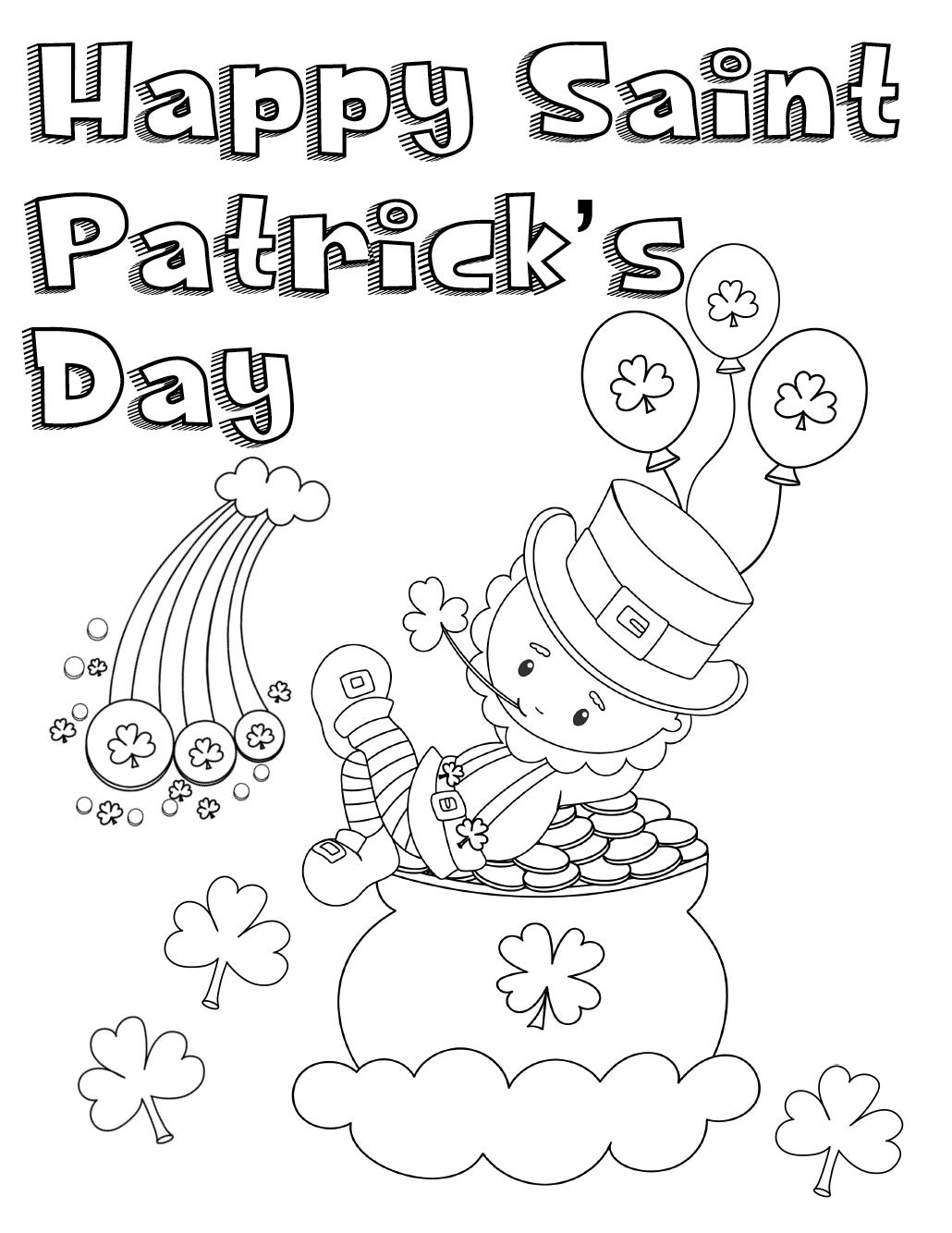 Free St Patrick's Day Printables