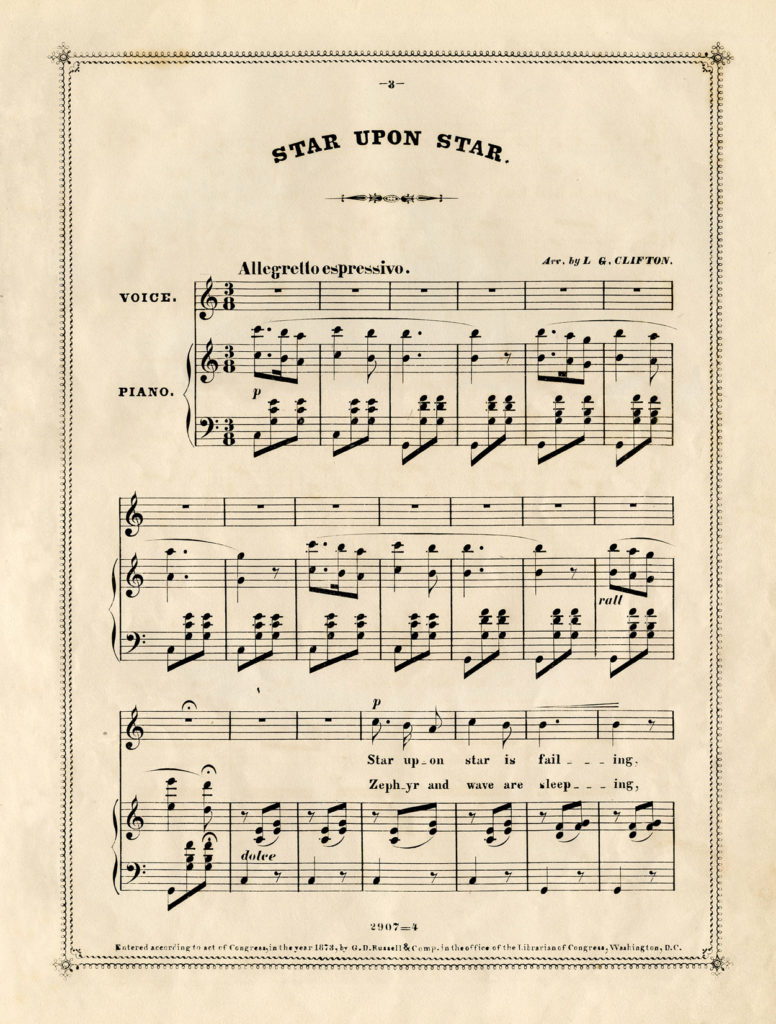 Free Vintage Sheet Music The Graphics Fairy