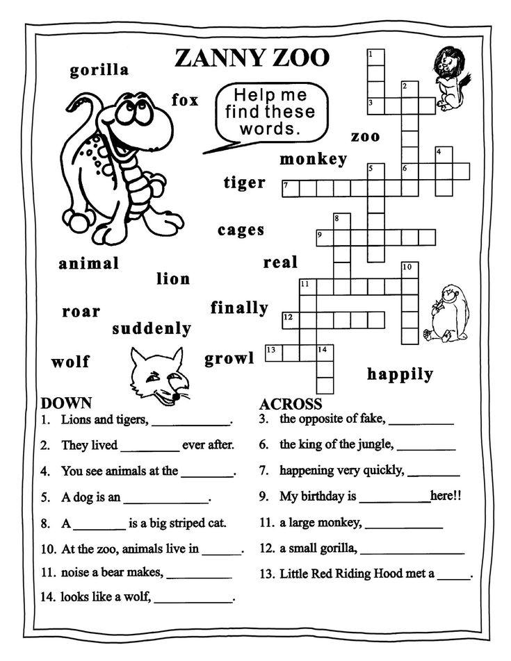 Grade 3 Free Printable English Worksheets