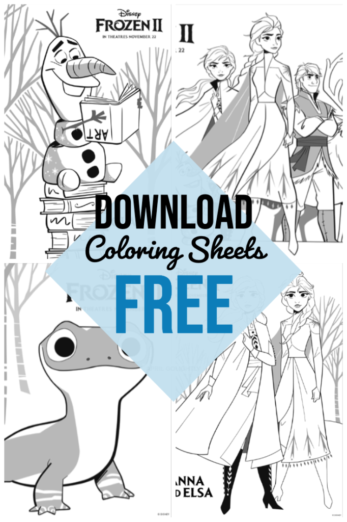 Frozen 2 Coloring Pages April Golightly