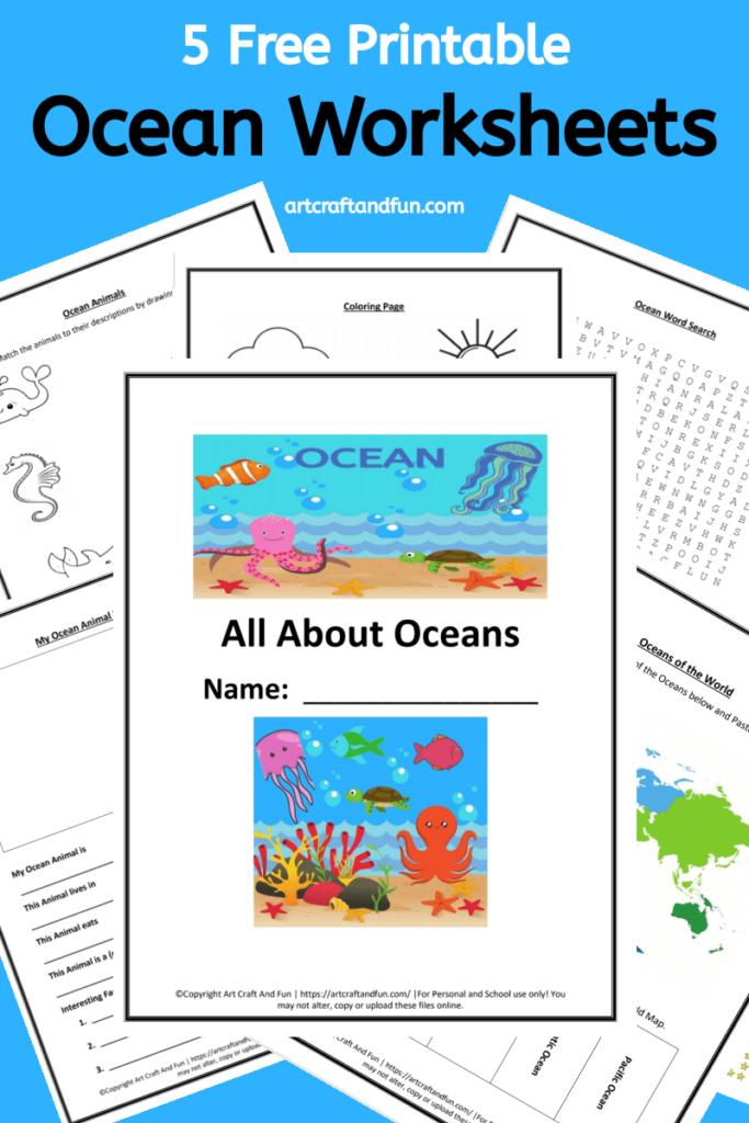 Grab 5 Free Printable Ocean Worksheets For Your Grade