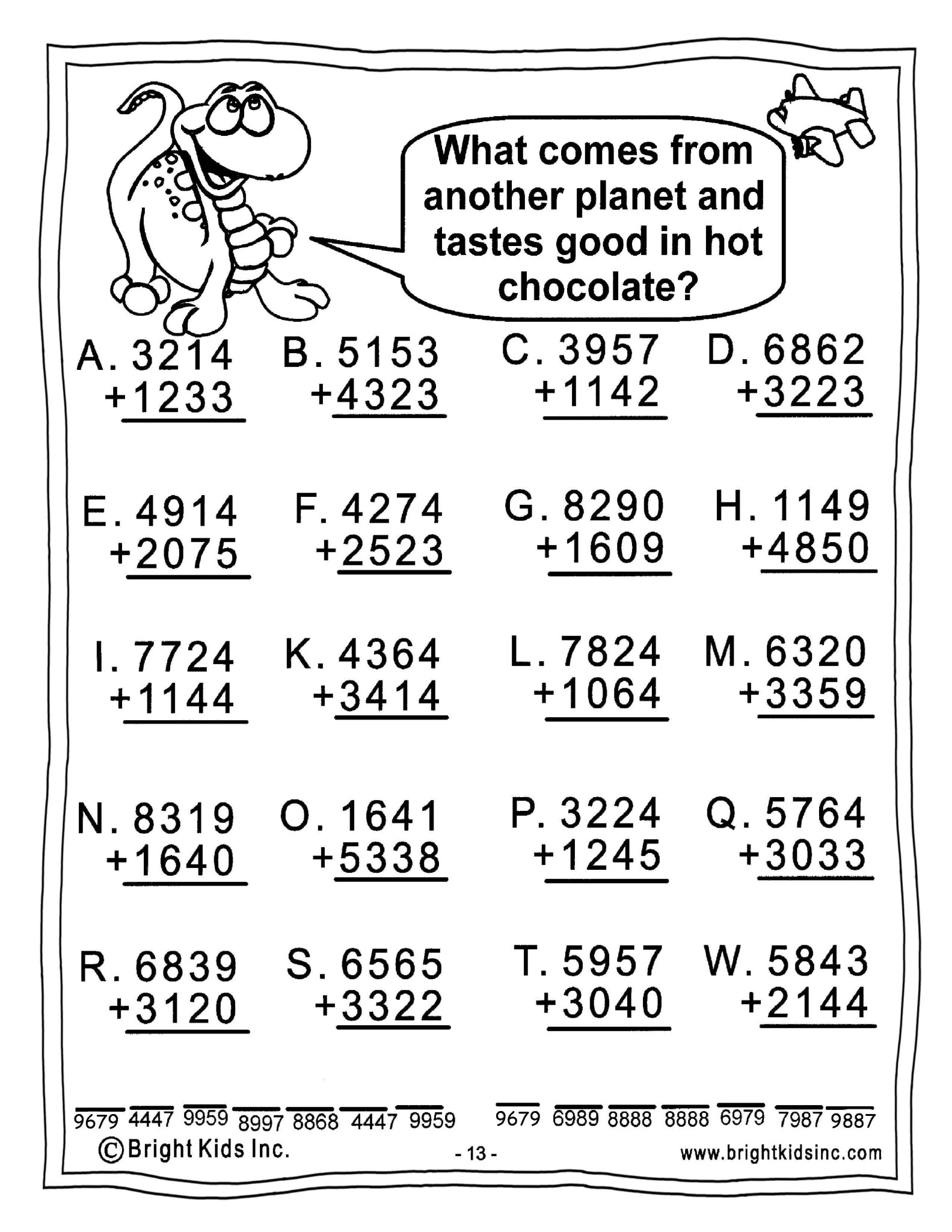 Math Grade 3 Worksheets