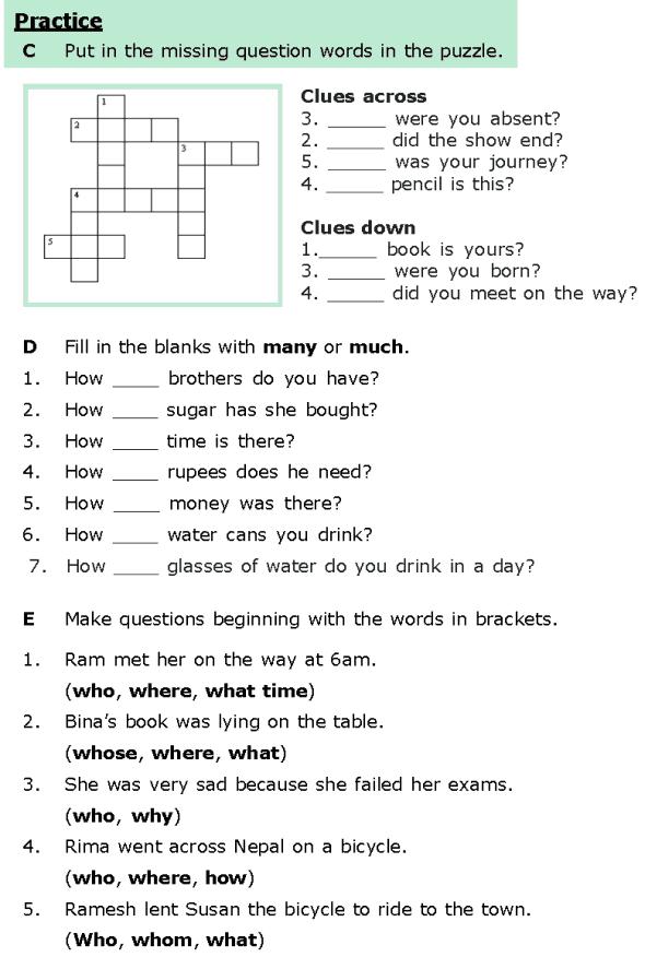Year 6 Free Printable English Worksheets