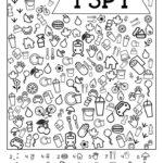 I Spy Free Printable Kids Game Paper Trail Design