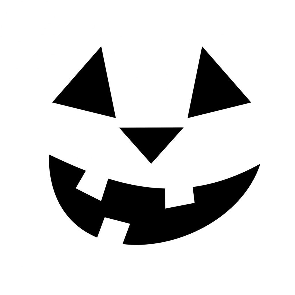 Jack O Lantern Face Stencil Free Stock Photo Public