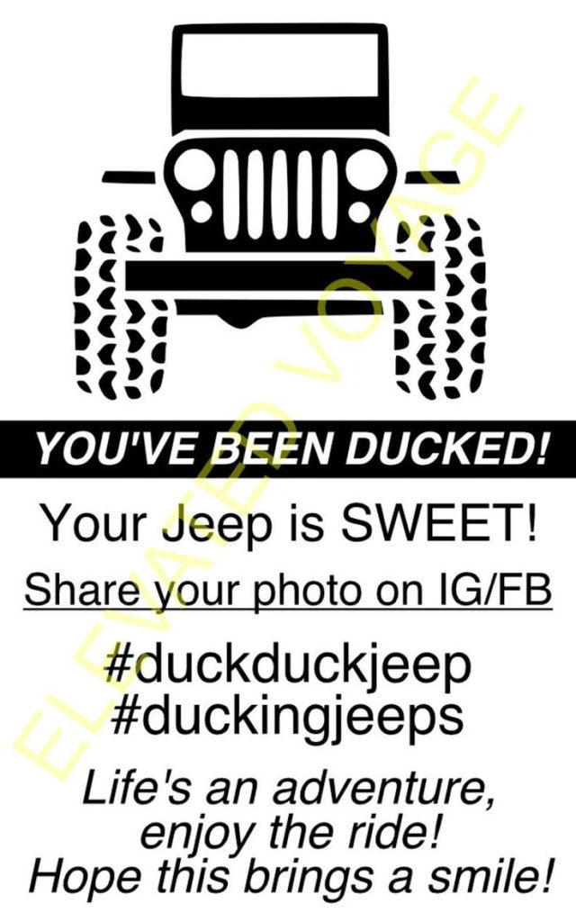Jeep Duck Tags Printable Digital Etsy In 2021 Jeep