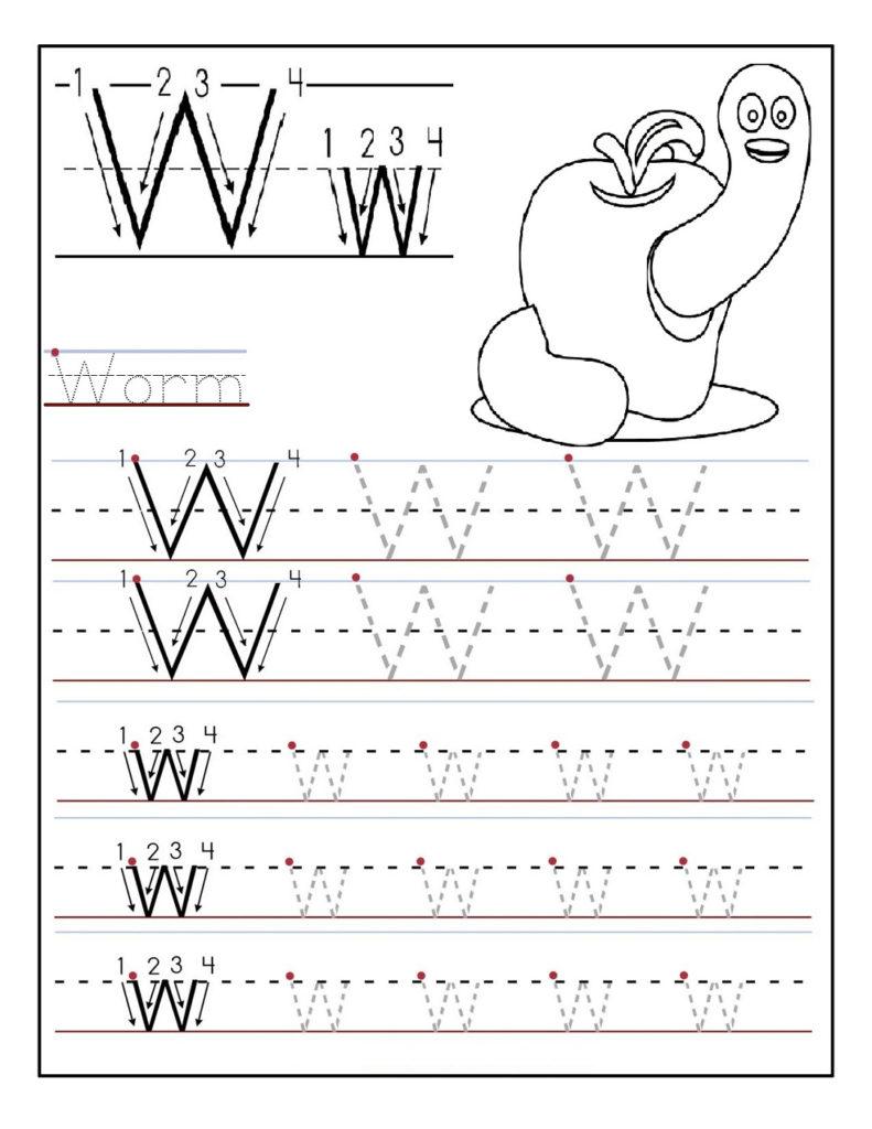 Kindergarten Alphabet Worksheets To Print Activity Shelter