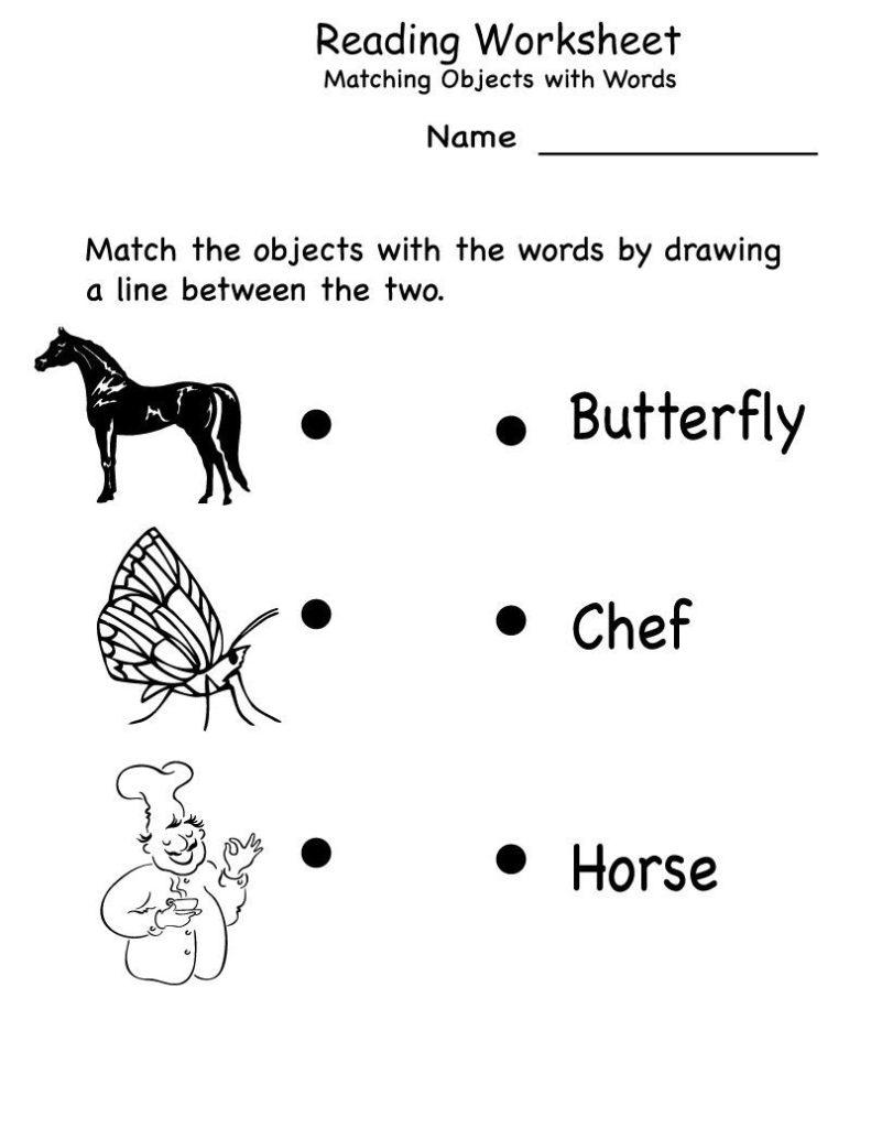 Kindergarten English Worksheets Pdf Grammar