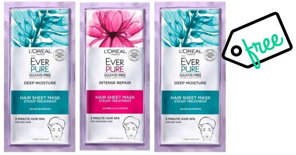 L Oreal Coupon Free Hair Sheet Mask Southern Savers