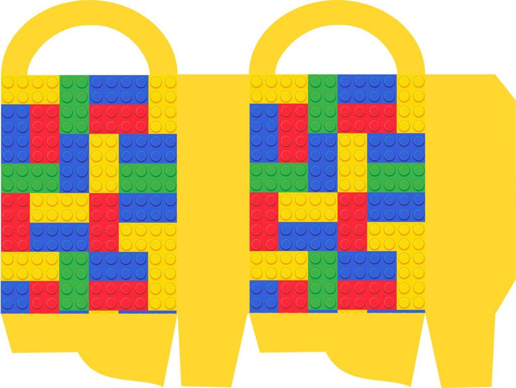 Lego Party Printables Part 4 DIY Favor Bags Keeping