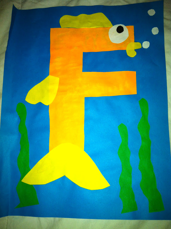Letter F Craft Free Printable