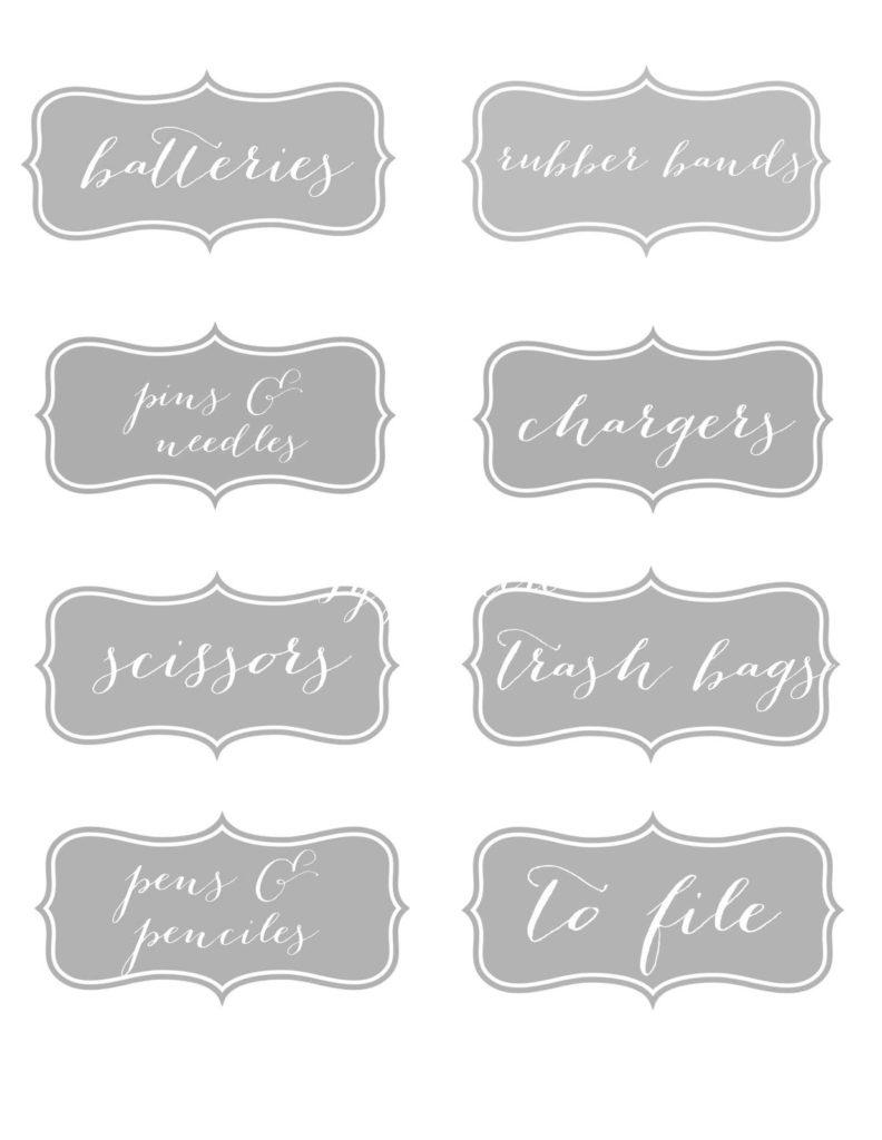 My Sweet Savannah Free Printable Labels