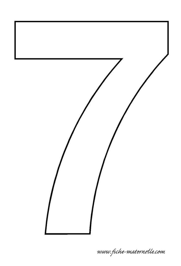 Number 7 Free Printables