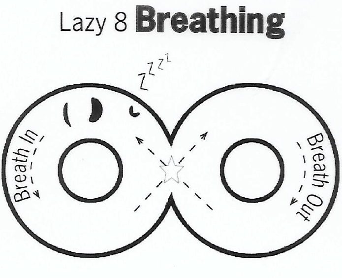 Lazy 8 Breathing Free Printable